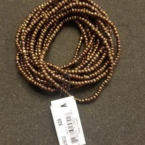 Mocha Brown Bracelet and Necklace